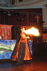 THE FIREBREATHER Fire breathing at its best
