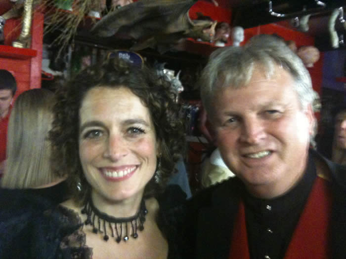 Essex Toastmaster, DJ, Fire Breather and master of Ceremonies with Alex Polizzi from the TV series The Hotel Inspector