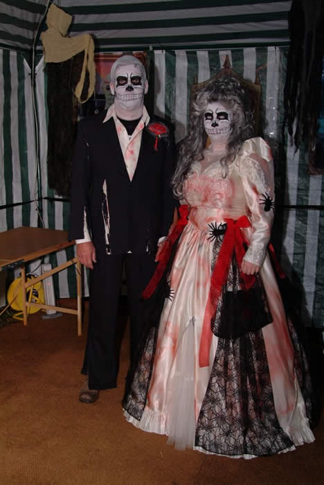 The happy couple for the Dead Wedding in Chelmsford